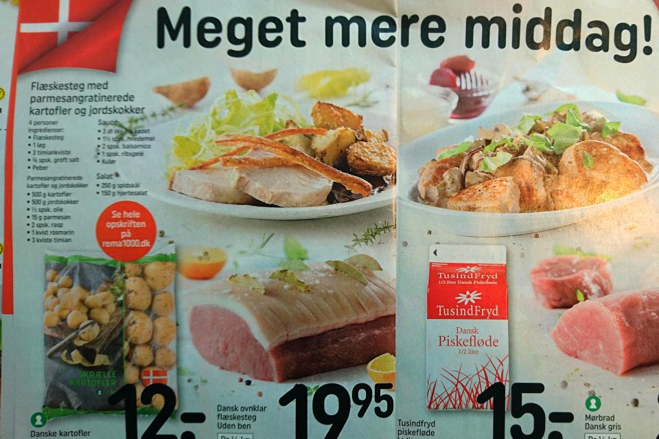 Национальные блюда Дании - рецепт свинины (flæskesteg)
