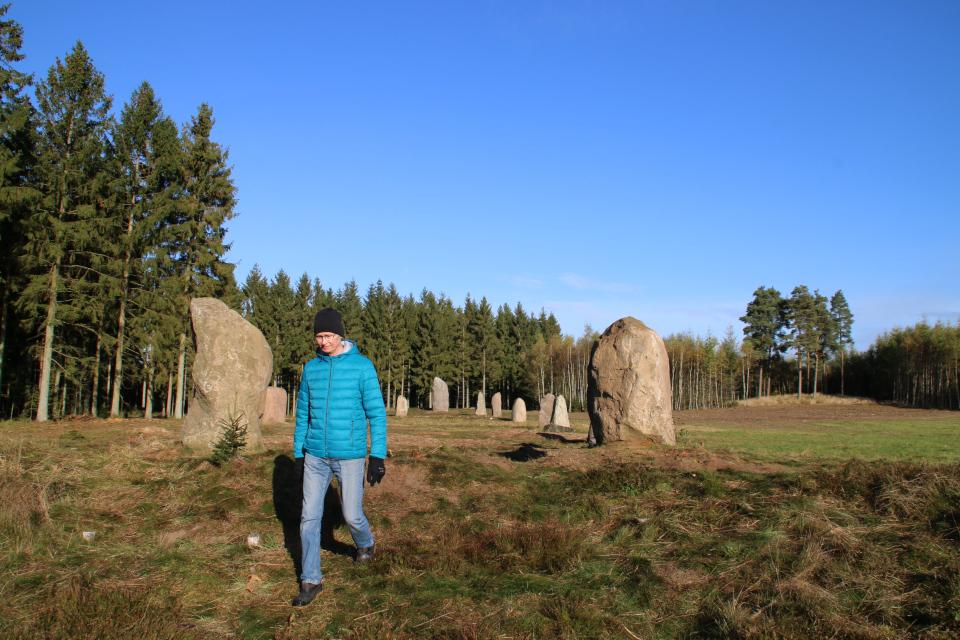 Южная часть доисторического монумента, г. Вейерслев / Vejerslev, Дания