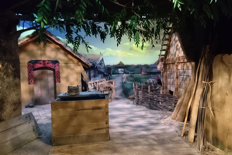 Выставка про викингов в Орхусе в музее Старый Город / Den Gamle By