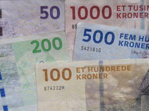 Банкноты Дании – археология и мосты
