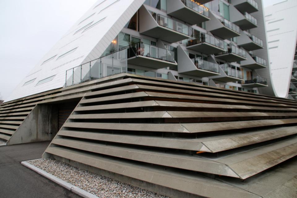 Дом-волна в Дании Вайле, Bølgen Vejle 12 нояб. 2020