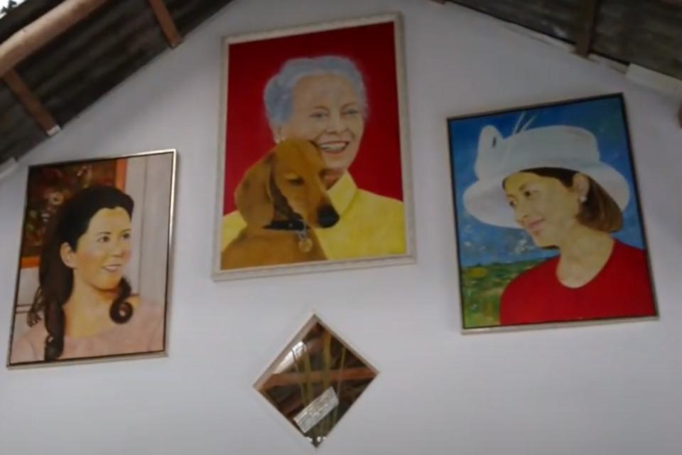 Марк Брейн (Mark Brein), портрет королевы,галерея 29 окт. 20, Дания