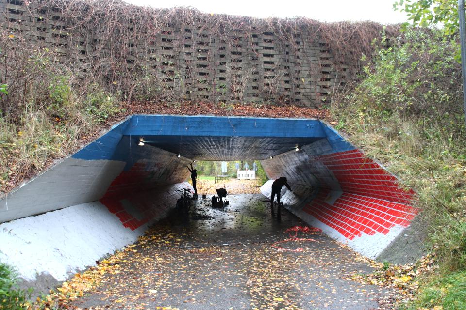 Туннель в Холме Håndværkerparken, 2 нояб. 2020, Дания
