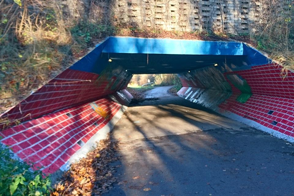 Туннель в Холме Håndværkerparken, 27 нояб. 2020, Дания