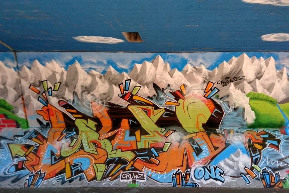 Тоннель в Холме, Håndværkerparken. 27 нояб. 2020, Дания