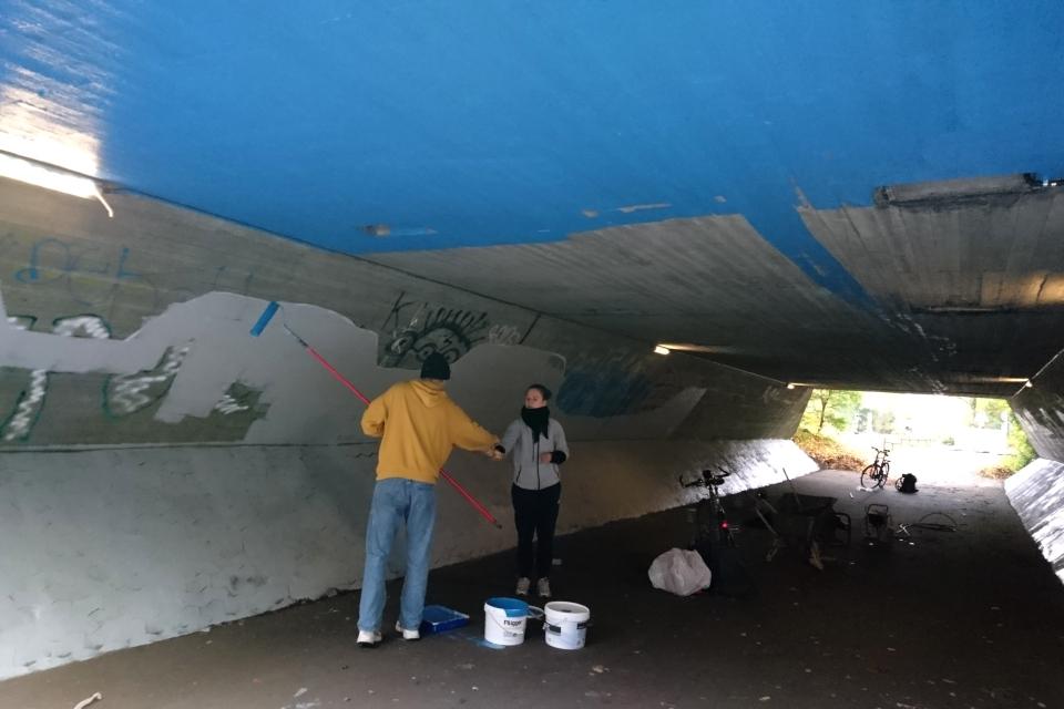 Туннель в Холме, Anton Borg Hjort и Ekaterina Poliakova, 26 окт. 2020, Дания