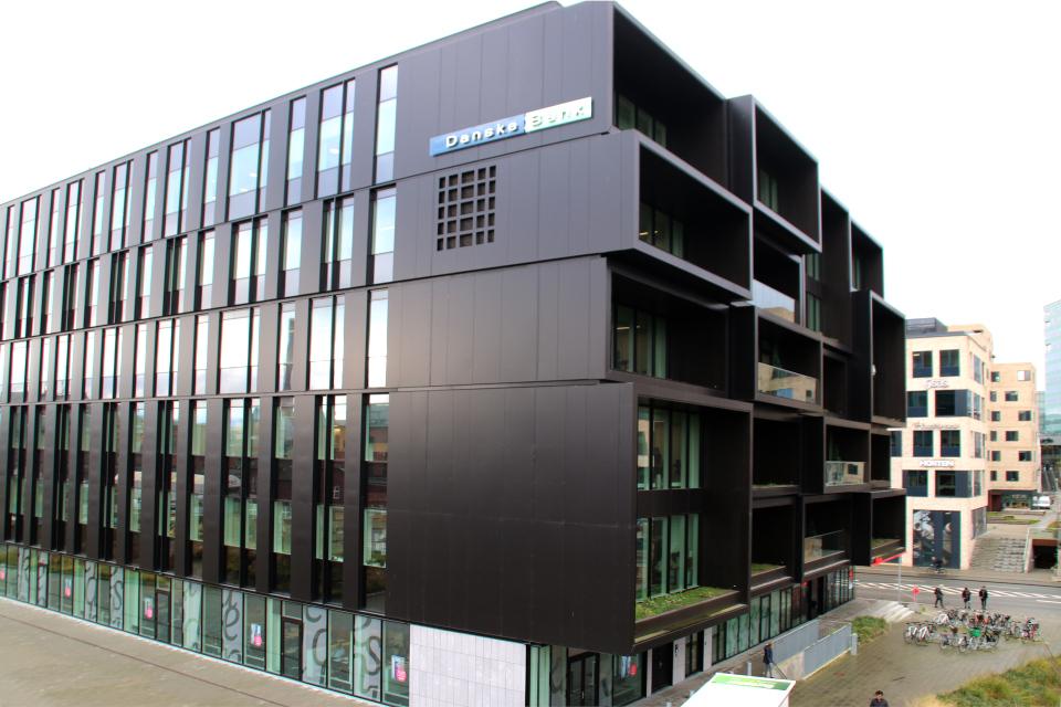 Датский банк, Орхус, Дания. 18 нояб. 2020