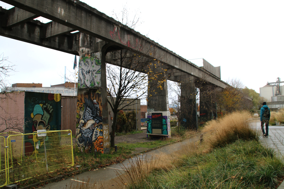 Угольный мост в Орхусе (Kulbroen Aarhus),18 нояб. 2020