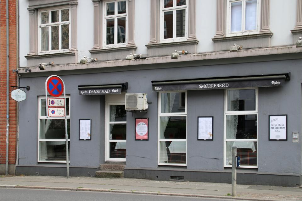 Ресторан датской еды (Dansk mad) в Орхусе, Дания