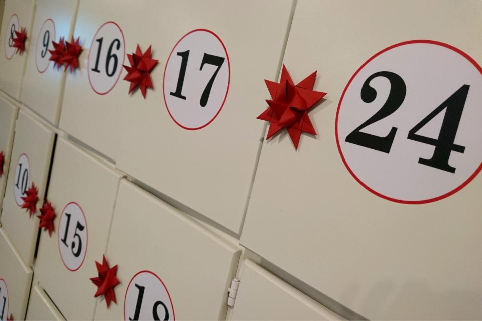 Выставка рождественских календарей, музей Хорсенс, Дания. 29 нояб. 2020