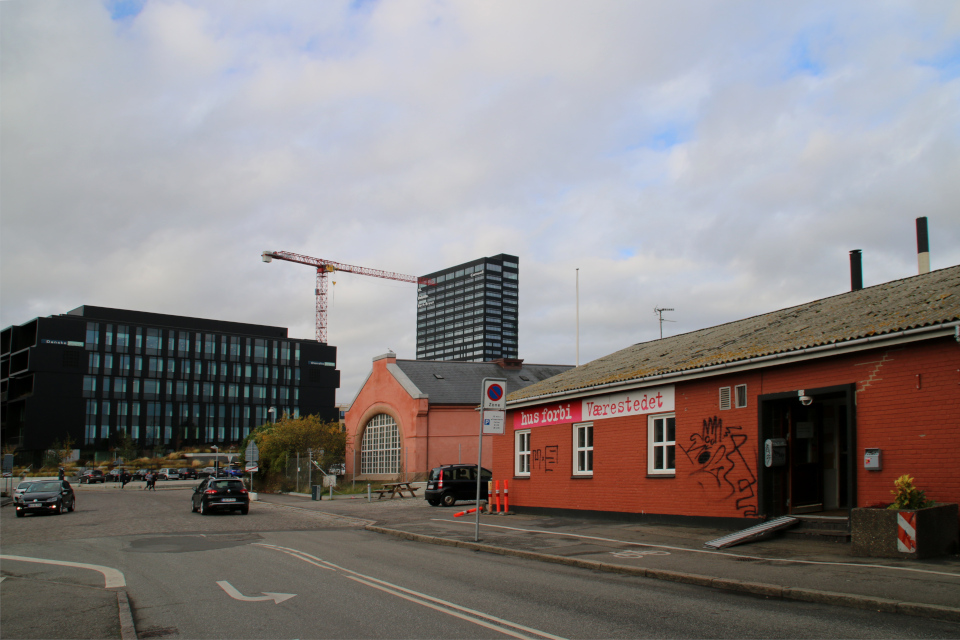 Hus forbi, værested, Орхус, Дания 18 нояб. 2020
