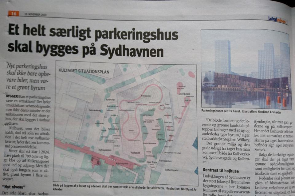 Статья про застройку порта Орхус, Дания 18 нояб. 2020