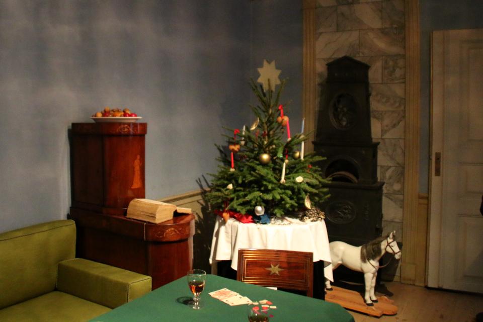 Первая рождественская елка в Дании, 1811 г.