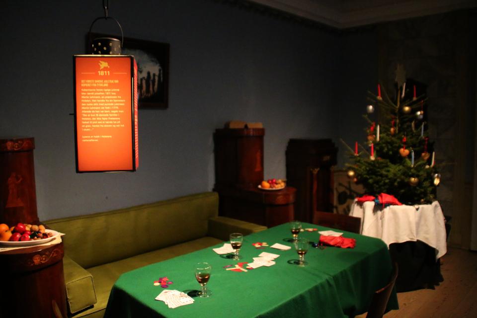 История рождественских елок в Дании - первая елка в 1811 году