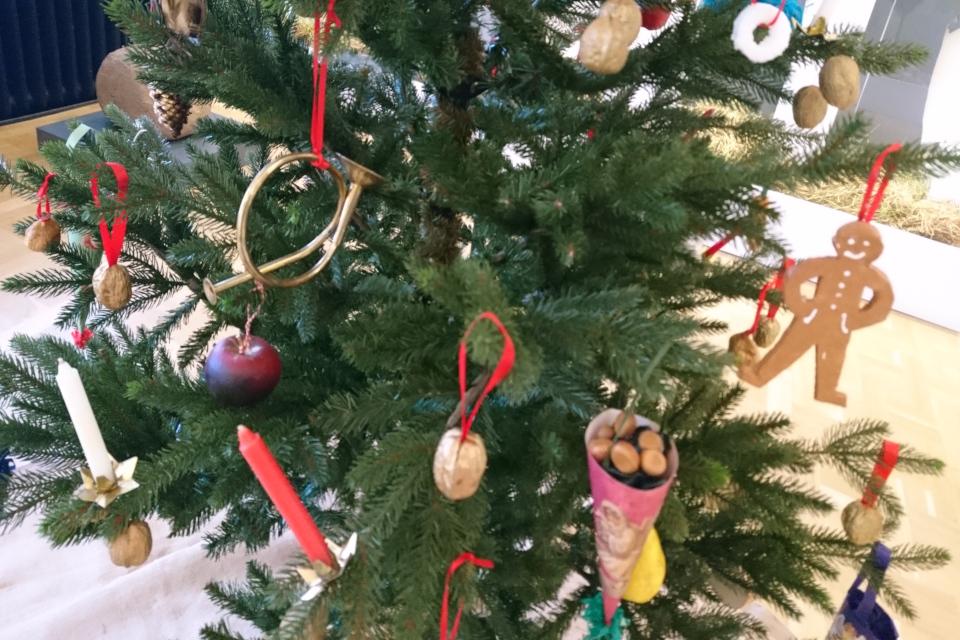 Украшения рождественской елки 1870 х годов