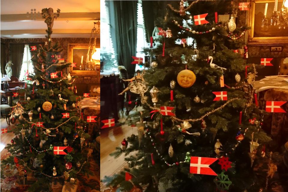 История рождественских елок - украшенная ель 1895 года