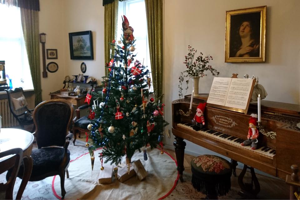 Рождественская елка 1900 года в музее г. Силькеборг