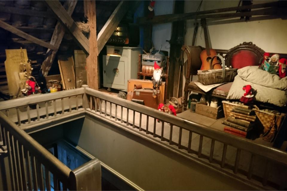 Ниссе на чердаке, музей Старый Город. Фото 25 нояб. 2019