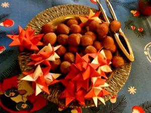 Плетеные рождественские звезды
