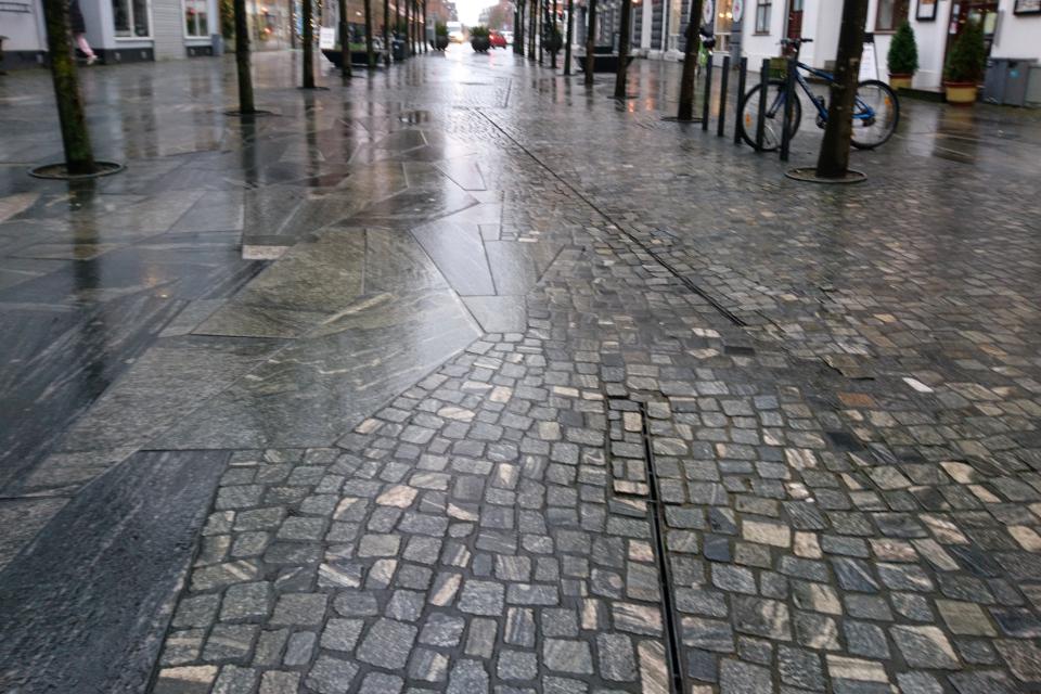 Водостоки, Хернинг, Дания. Фото 15 дек. 2020