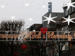 Рождественское убранство в Хернинг