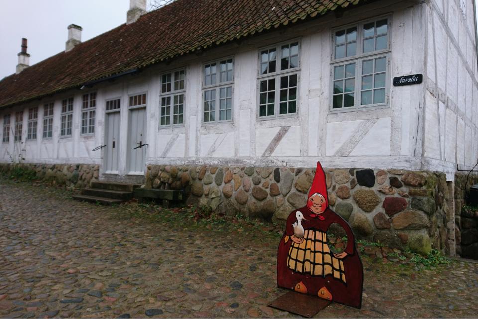 Фахверковый дом с жильем Эйльшоу (дат. Eilschous Boliger)