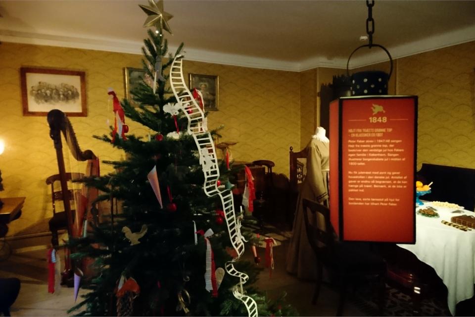 Рождественский вечер Петера Фабер - 1848 год