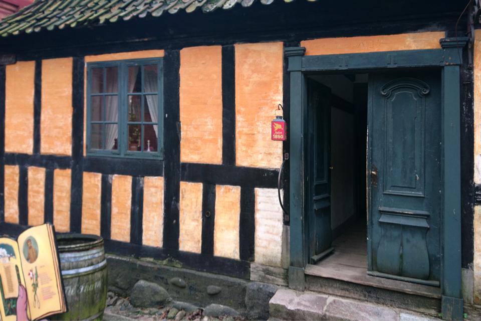 Рождество в Старом Городе 1850 в доме красильщика