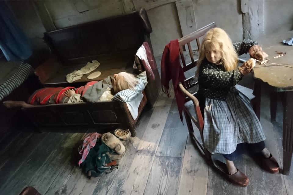 Сочельник бедной семьи - 1841 год