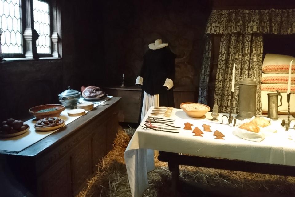 Рождество в Старом Городе - 1625 год в доме бургомистра