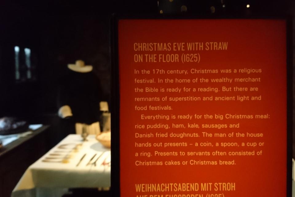 Рождество в Старом Городе в доме бургомистра, 1625 год