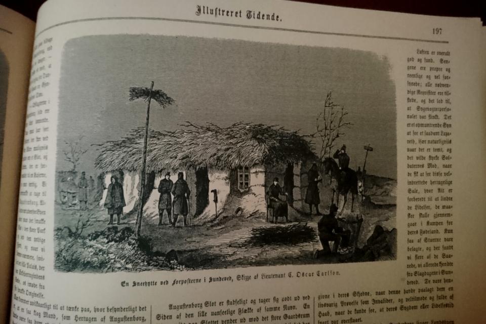 Иллюстрация из журнала Illustreret Tidende 1864 года
