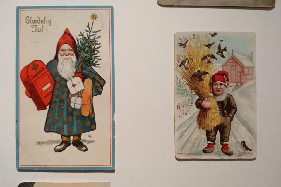 Рождественские открытки конца 1800 х - начала 1900 х годов