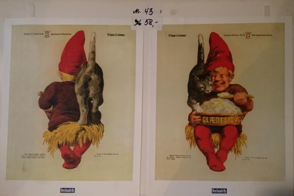 Копии старых рождественских открыток начала 1900 х годов