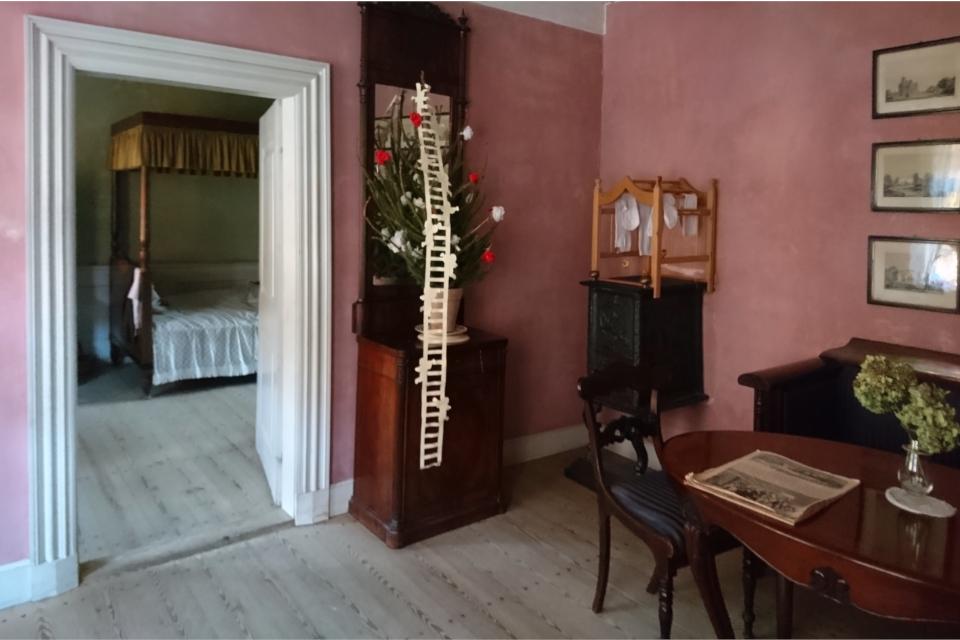Елочка с лестницей Иакова в доме Эйльшоу - 1833 год