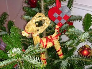 Рождественский козёл в Дании