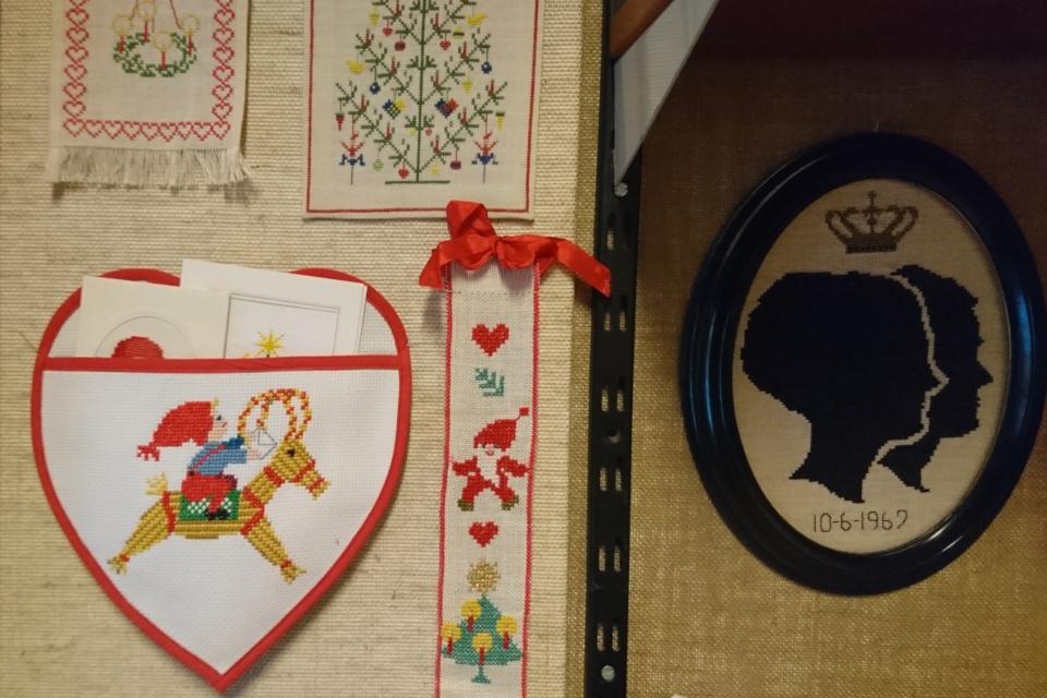 Подвесной держатель для рождественских открыток