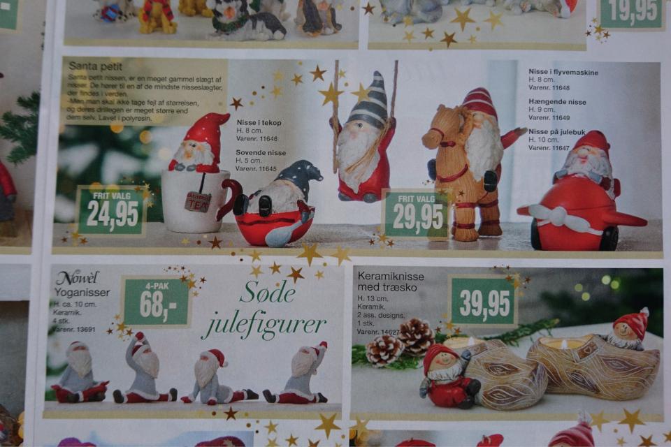Маленький дед мороз или рождественский ниссе на козлике