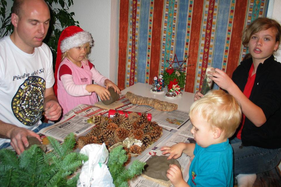 Изготовление рождественских украшений из природных материалов