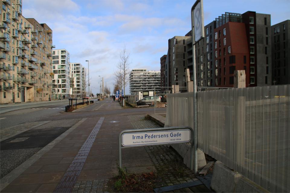 Орхус Доклендс - 22 января 2021, Дания. Aarhus Ø