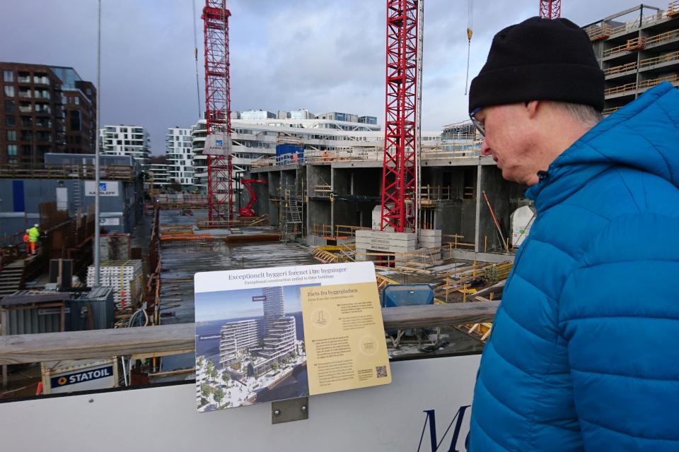 Орхус Доклендс - 22 января 2021, Дания. Lighthous