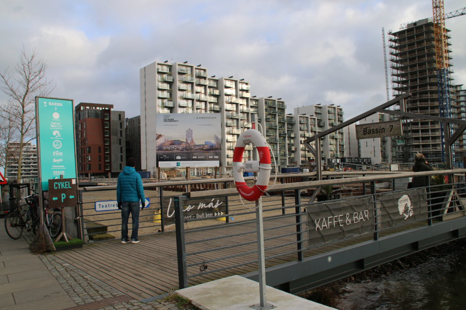 Орхус Доклендс - 22 января 2021, Дания. Kampanilen