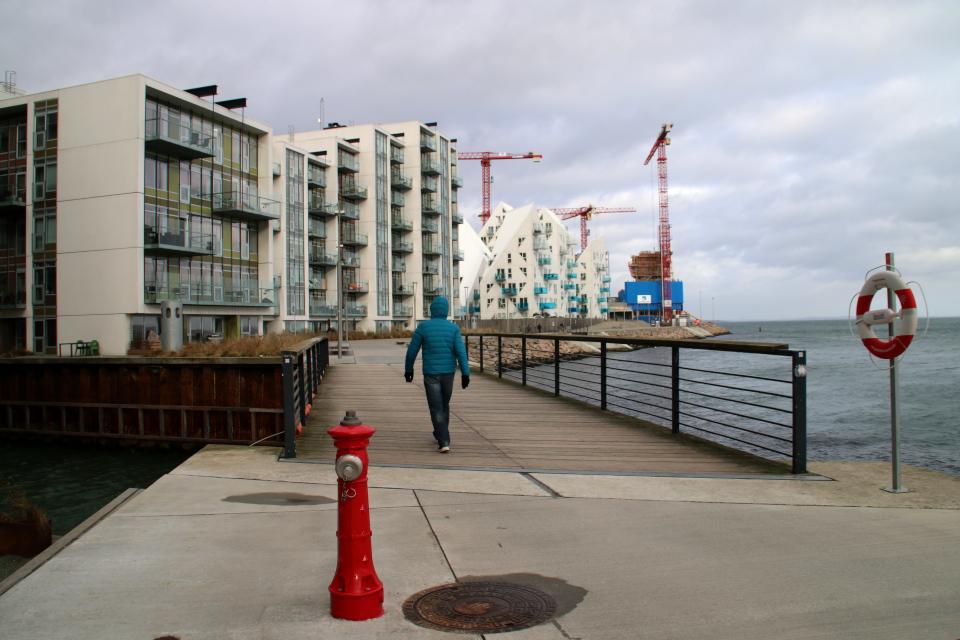 Орхус Доклендс - 22 января 2021, Aarhus Ø, Isbjerget