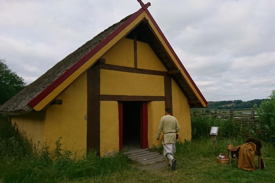 Поселение викингов Фюркат, Дания. 11 июн. 2019