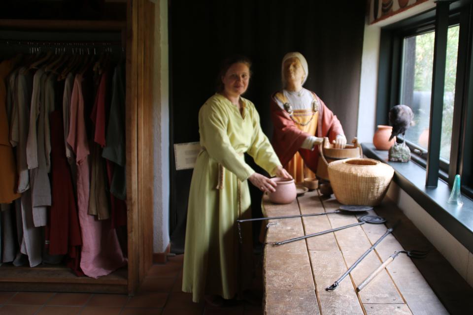 В платье викингов, Фюркат, Дания. 11 июн. 2019