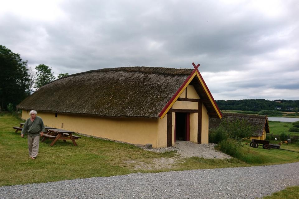 Дом викингов Фюркат, Дания. 11 июн. 2019