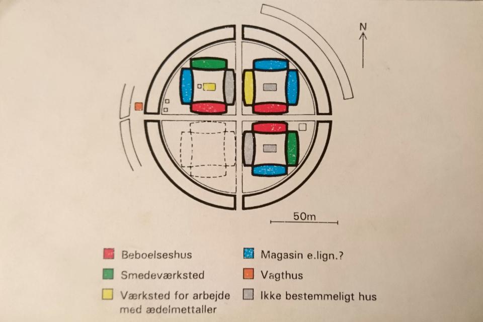 Фюркат Датские круговые замки 11 июля 2019, Дания