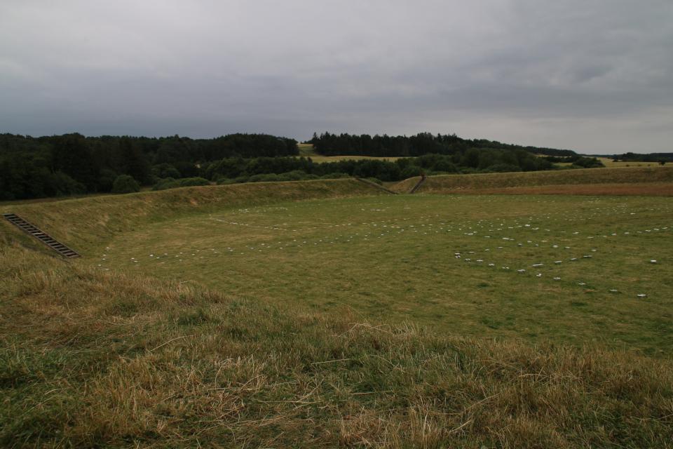 Фюркат Датские круговые замки. Фото 11 июля 2019 г