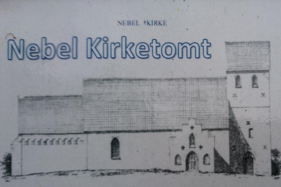 Часовня пилигримов Небель, Дания. Pilgrimskapellet Nebel. 27 июл. 2020