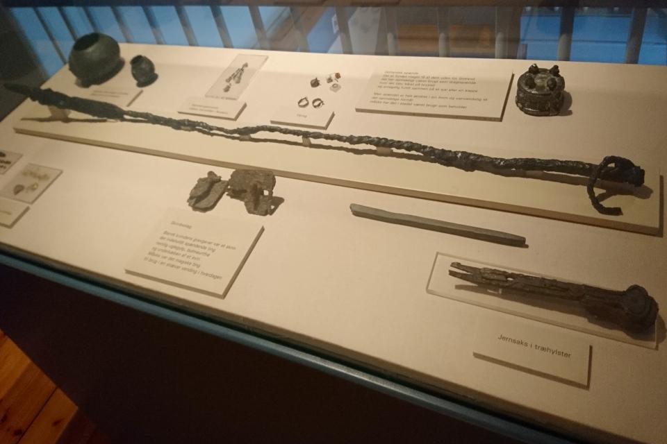 Музей Хобро находка в Фуркат. Фото 11 июля 2019 г